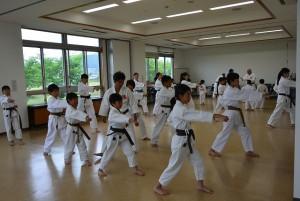 29年6月11日岡山日勝館合同練習1